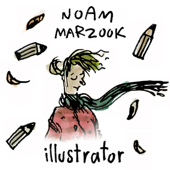 Noam Marzook - Illustrator -